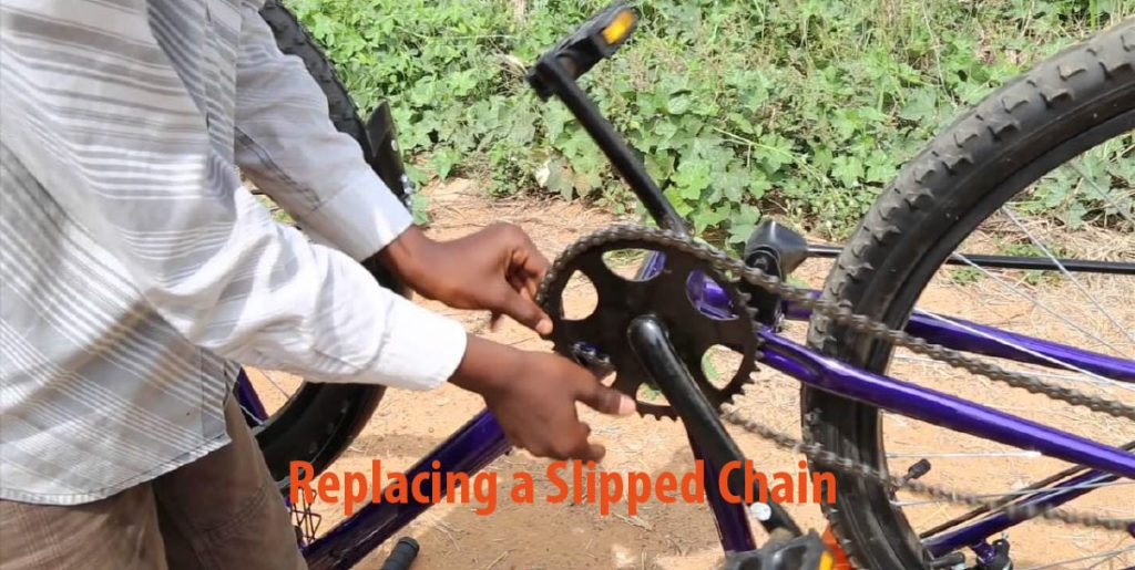 How To Rechain A Bike