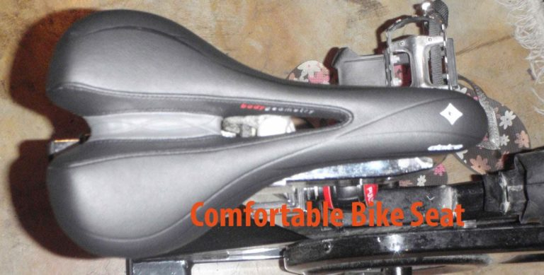 how to make a bike seat more comfortable