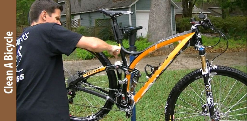 how to clean a bicycle