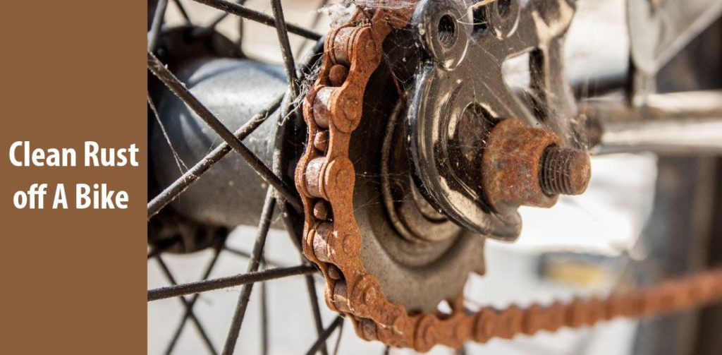 how to clean rust off a bike