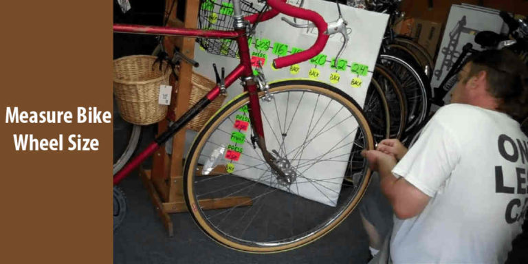 how to measure bike wheel size