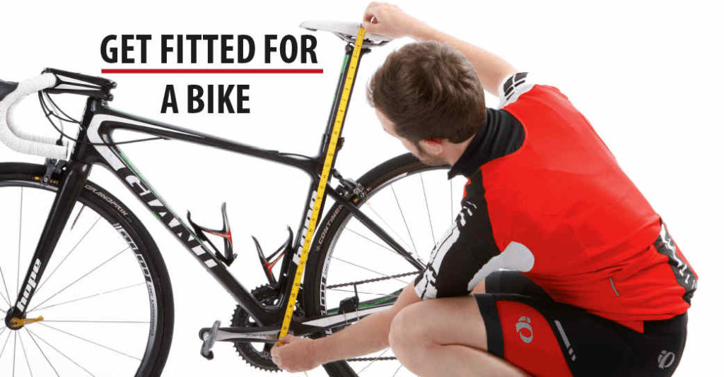 how to get fitted for a bike