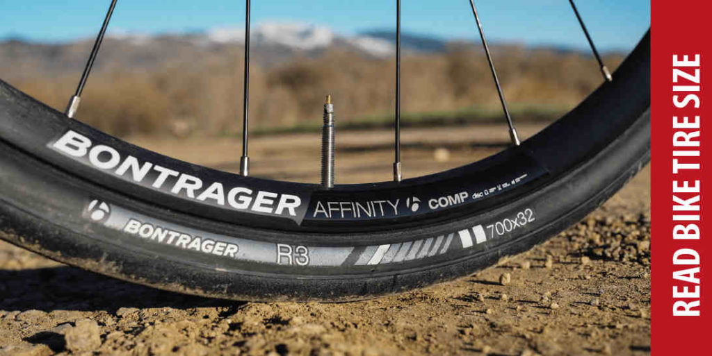 how to read bike tire size