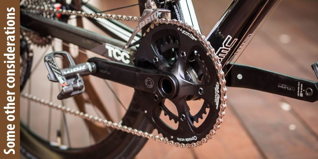 how to measure crankset length