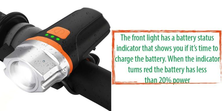 Fillixar USB Rechargeable Bike Light