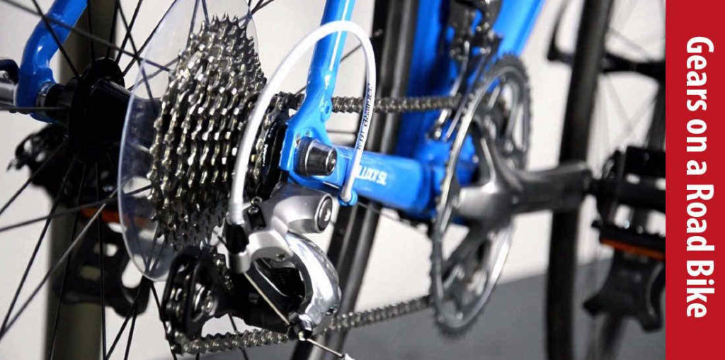 how to switch gears on a road bike